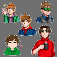 Eddsworld! by AmitiArt