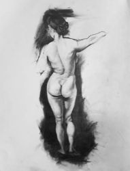 Figure drawing study by ProfessorPicasso