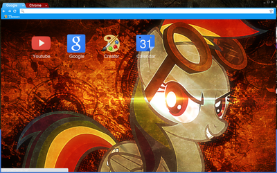 Bad mare chrome theme by X02-42