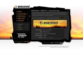 anaconsol v3 by dotsilver by designerscouch