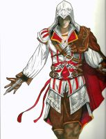 Ezio by CorbieLaughter