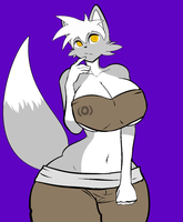 New OC. Kray the Namfu by chaoman25