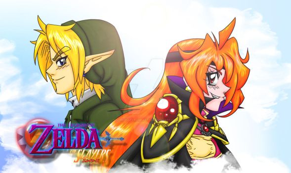 Cephian and Hylian by somedudefromEARTH