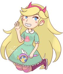 Star Butterfly by Homishi