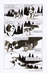 Whiskey The Avalanche Dog Comic - Page 5 by WildSpiritWolf