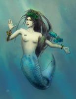 Real Mermaid by the0phrastus