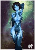 Cortana by ronjaw
