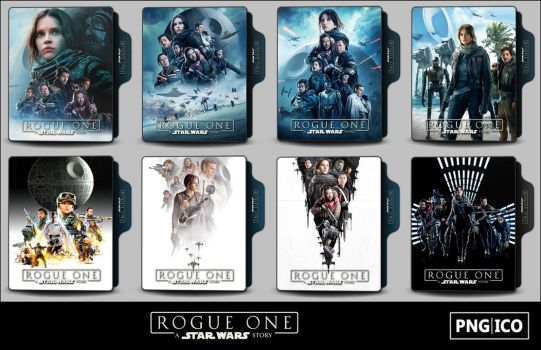 Rogue One - A Star Wars Story (2016) Folder Icons by OnlyStyleMatters