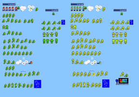 MLSS Frog Mario and Frog Luigi Sprites Sheet by PxlCobit