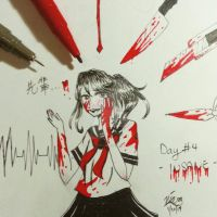 Goretober Day #4 - Insane  by positiivity