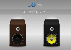 speakers icons psd by LeMex