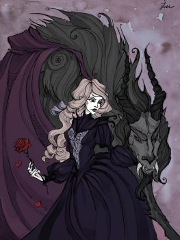 Beauty and the Beast by IrenHorrors
