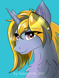 commission portrait by TwilightWolf91