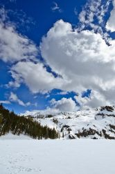 Castle Lake and Clouds by nathanspotts