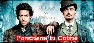 Holmes and Watson by potpourriVI