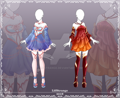 [Close] Adoptable Outfit Auction 191,195 by LifStrange
