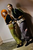 Kim Possible and Ron Stoppable 4 by PumkinSpice