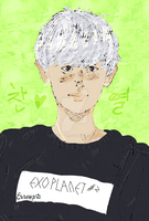 Chanyeol by EszettB