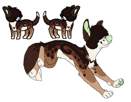 Caramel Mocha Swirl -Design Sale- by Errored-Adopts