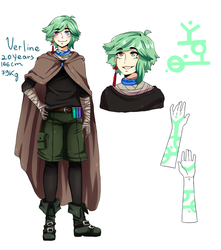 oc redesign:Verline by 12NM