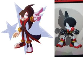 Sonic Forces OC - Unnamed by SupercellComic
