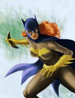Batgirl Ready for Battle by peetietang