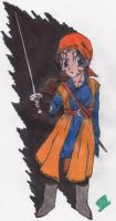 Dragon Quest VIII - Female Hero - Tora by MadHatter-Himself