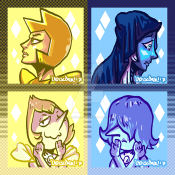 Lil diamonds n Pearls by UNDISCOVER-art