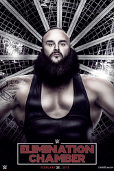 WWE Elimination Chamber 2018 Poster by workoutf