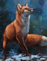 Snow Fall by kenket
