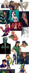 ART DUMP 2015 by Pirate-Cashoo
