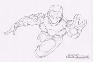 Iron Man lines by CliffThomas