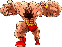 Street Fighter Zangief by fan4battle