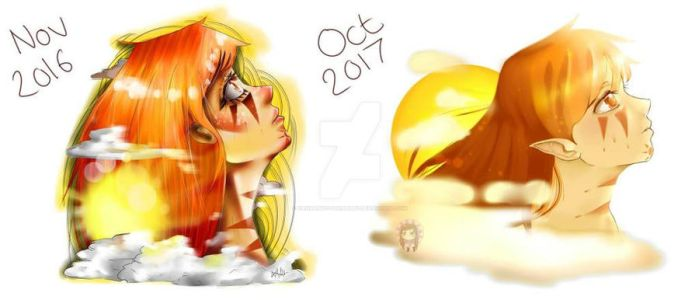 Redraw Sun Girl! by HannahVictoriaBibby