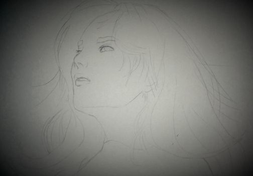 Uhm Jung Hwa Sketch by HESEuthyphro