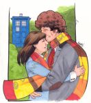4th Doctor and Sarah by stratosmacca