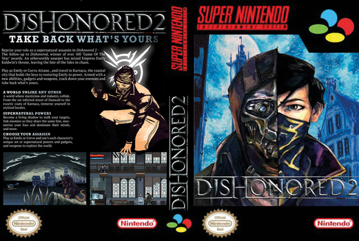 Dishonored II Snes by LOrdalie