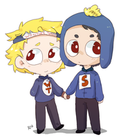 Wonder Tweek And Super Craig by Artist-squared