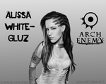 Alissa White-Gluz (Arch Enemy, ex-The Agonist) by satans-anger