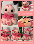 Clara the Jellyfish Plush by DimsumPanda