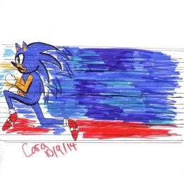 Sonic Run Colored finished by Banana-peel