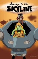 Journey to the Skyline issue 01 cover by Gx3RComics