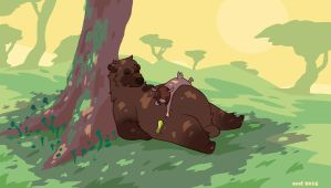Bear Tree by ground-lion