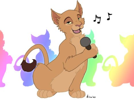 Musical Kotty by KisuCat