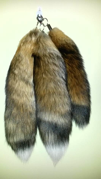 Red Fox Tails by Whitetail-Taxidermy