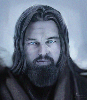 leonardo dicaprio - the revenant by fawwaz1