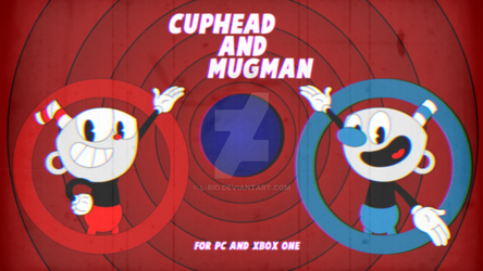 Cuphead and Mugman Ad (Color) by L-Rid