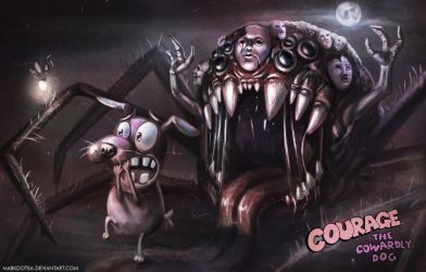 Courage the cowardly dog -The movie by Markdotea