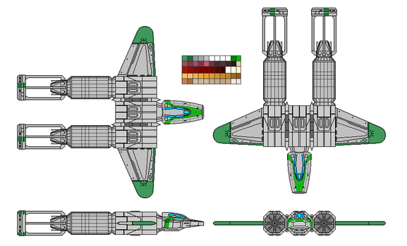 Space Racer Fighter Blank by typical-unusual