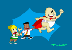 The Captain Underpants Adventures by TXToonGuy1037